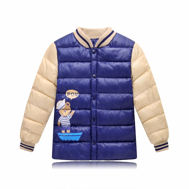 7762aa9ce355 Baby coat for boys girls jacket high quality feather cotton children ...