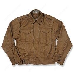 WW2 UK ARMY DENISON uniforme P37, chaqueta de lana británica, abrigo para exteriores