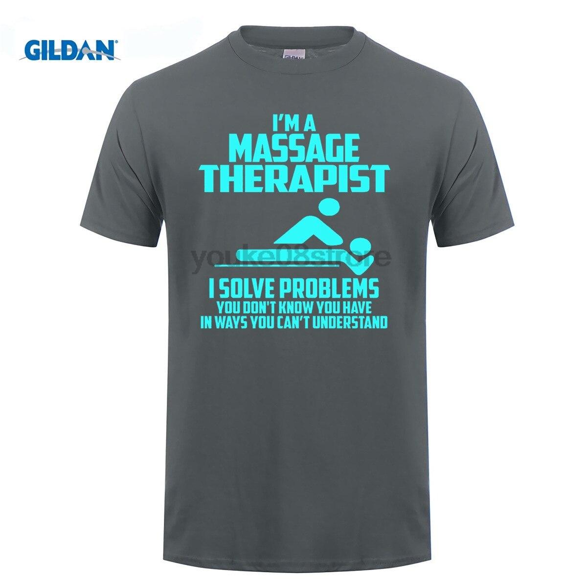 Возьмите 100% хлопок o-образным вырезом Пользовательские печатных футболка массажист футболка