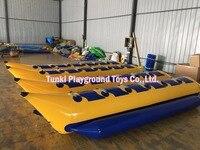 Barco inflável da banana do barco