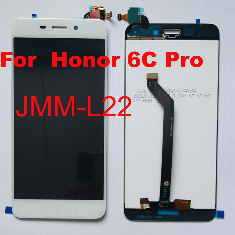 100 original Full LCD DIsplay Touch Screen Digitizer Assembly For Huawei Honor 6C Pro JMM L22
