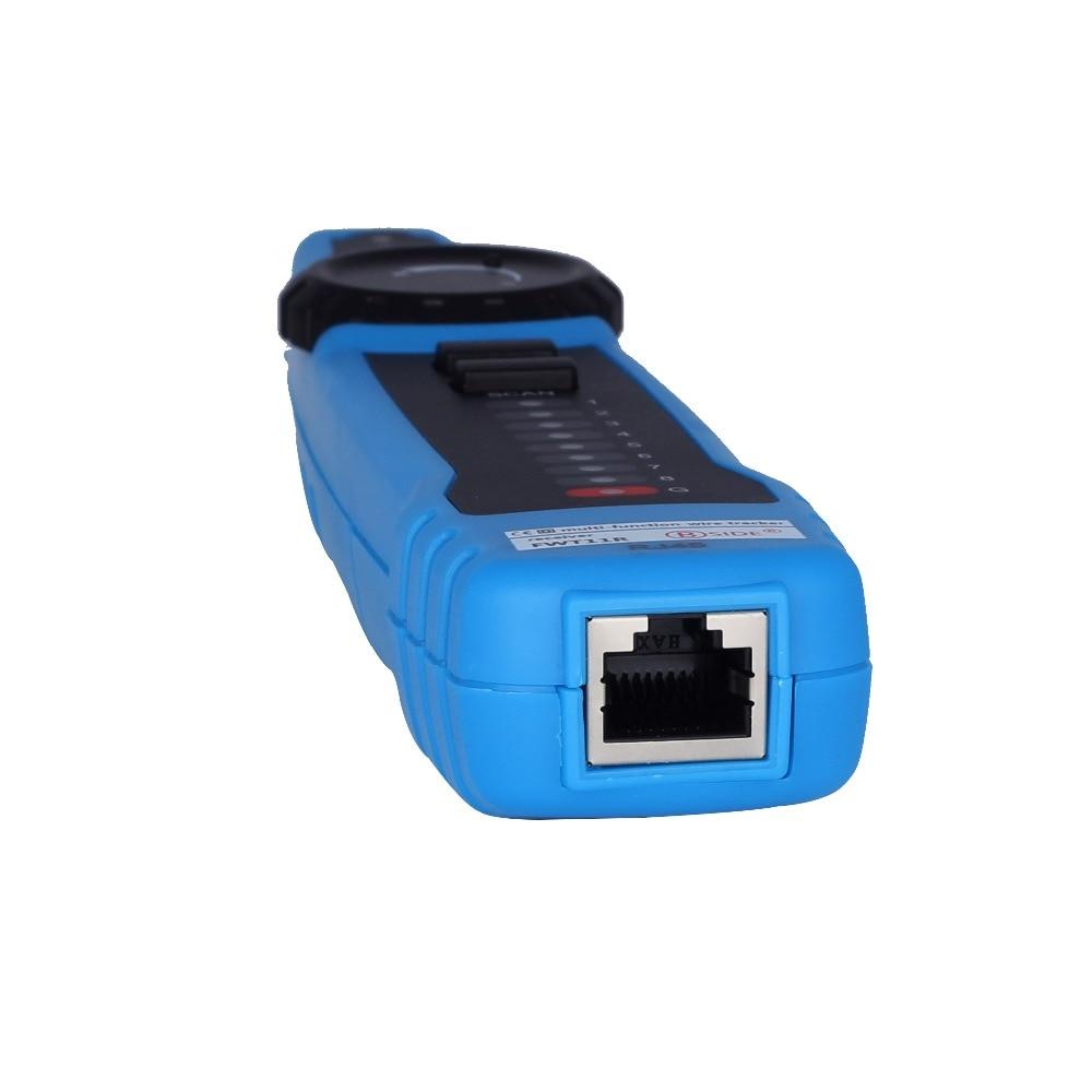 Image 5 - Высокое качество RJ11 RJ45 Cat5 Cat6 телефонный провод трекер  Tracer тонер Ethernet LAN Сетевой кабель тестер детектор линия Finder  инструментСетевые инструменты