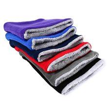 Теплый зимний детский шарф, бархатные вязаные шарфы для мальчиков и девочек, теплый шарф для мальчиков и девочек