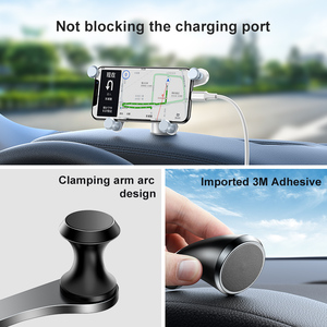 Image 5 - Baseus Auto Telefoon Houder Voor Iphone Samsung Gravity Mount Houder Stand Dashboard Auto Houder Voor Huawei Xiaomi Mobiele Telefoon Houder