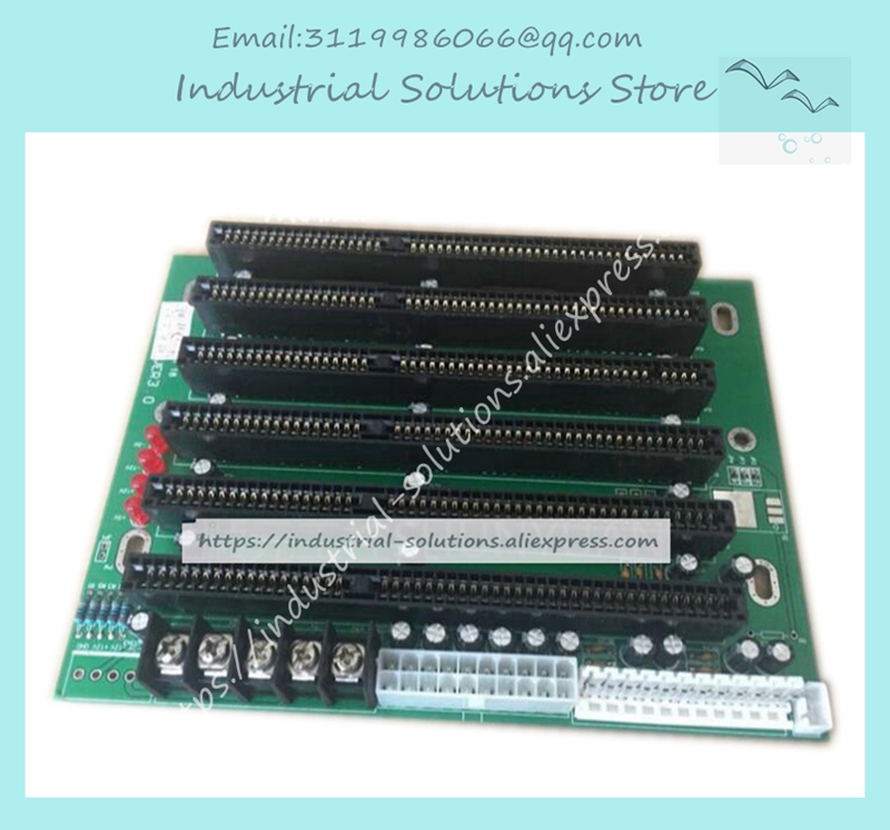 ICA-6106 6 Slot ISA Slot Industrial passive backplane Support PICMG1.0 Half-size CPU Card PCA-6106 board 100% testedICA-6106 6 Slot ISA Slot Industrial passive backplane Support PICMG1.0 Half-size CPU Card PCA-6106 board 100% tested