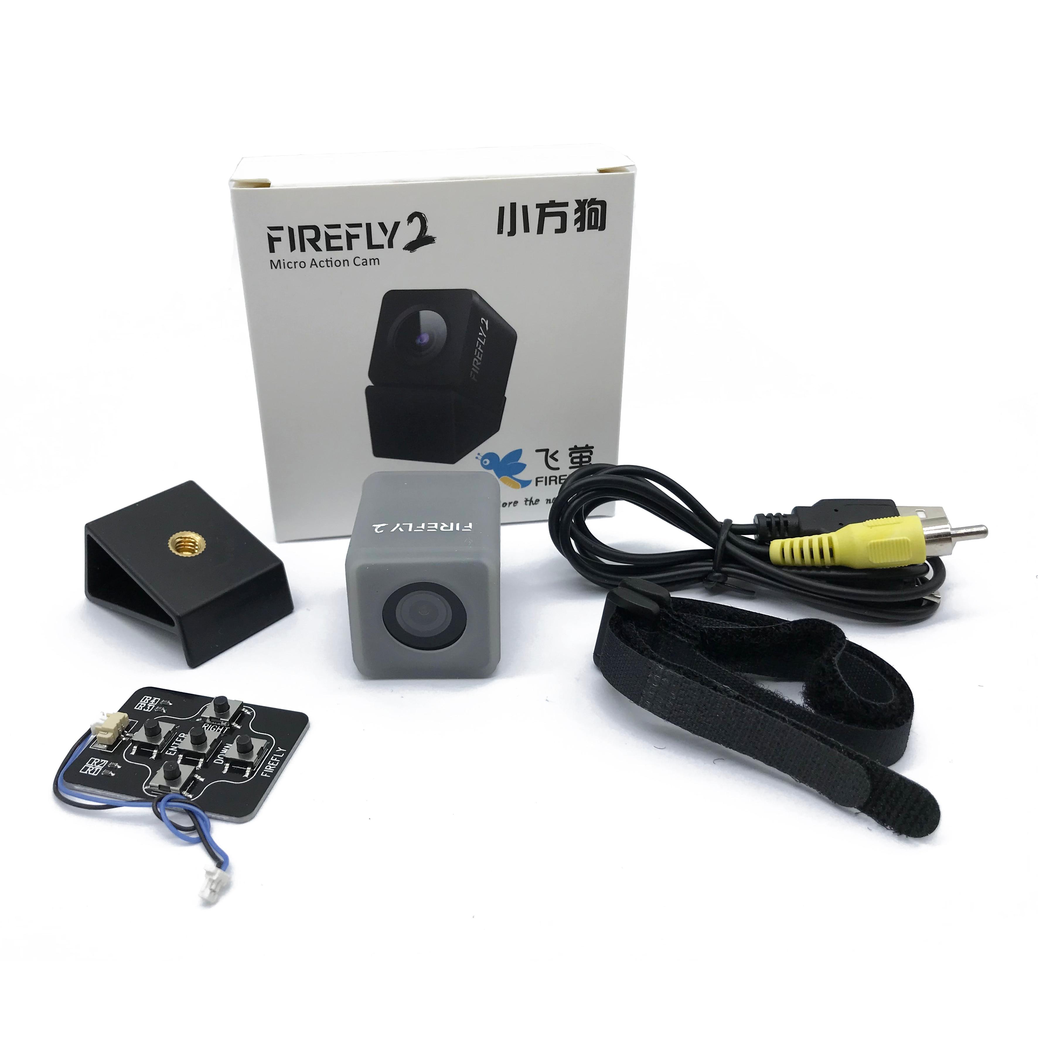 Hawkeye luciole Micro Cam 2 2.5 K 1080 p 60fps résistant à l'eau 5.8G FPV caméra intégrée 600 mAH batterie faible latence pour Drone dvr