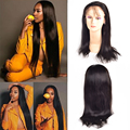 7A Malaysian Straight Hair Lace Front Human Hair Wigs Glueless Full Lace Human Hair Wigs For Black Women Straight Lace Front Wig