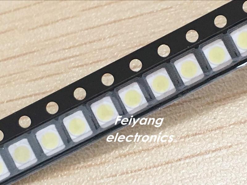 200PCS For LG LED Backlight 1210 3528 2835 1W 100LM Cool white LCD Backlight for TV TV Application