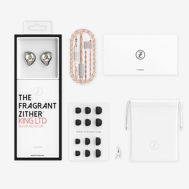 TFZ KING LTD KING LTD HiFi In-ear Monitor Earphone IEM with Double Magnetic Circuit Graphene Driver 2pin/0.78mm Detachable Cable 4