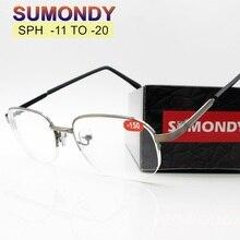 SPH-11-12-13-14-15-16 17-18-19-20 очки для близорукости для мужчин и женщин очки для близорукости конечный продукт F155