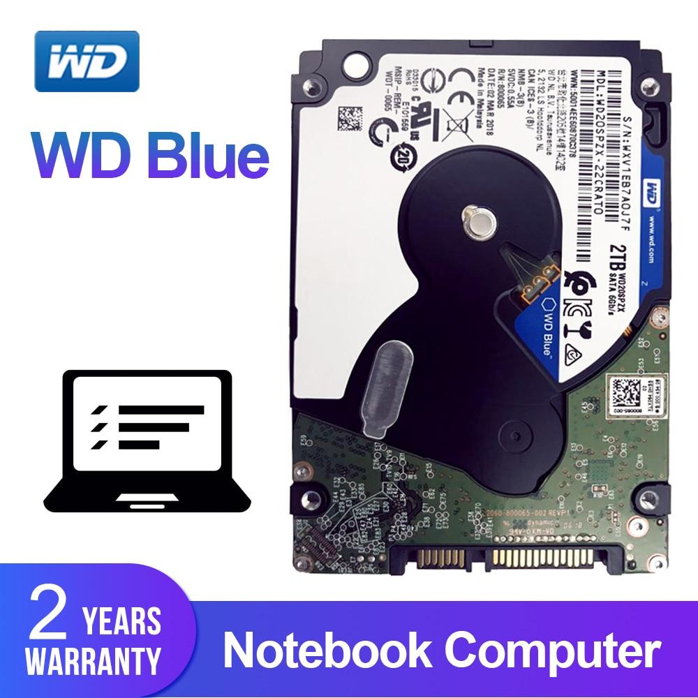 Western Digital WD Blue 2TB 2.5 Notebook HDD Mobile Internal Hard Disk Drive 5400RPM SATA 6Gb/s 128MB Cache Laptop OriginalWestern Digital WD Blue 2TB 2.5 Notebook HDD Mobile Internal Hard Disk Drive 5400RPM SATA 6Gb/s 128MB Cache Laptop Original
