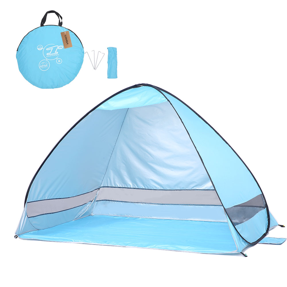 babymoov® Anti UV Pop up Portable Tent in GreenBlue with Case