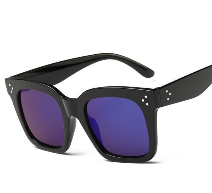 5fd00753a557e L16 Nova Moda Das Mulheres Dos Homens de Óculos De Sol Das Mulheres Marca  Designer de Óculos de Sol Quadrados Do Vintage Óculos Rebite Óculos De Sol  luneta ...