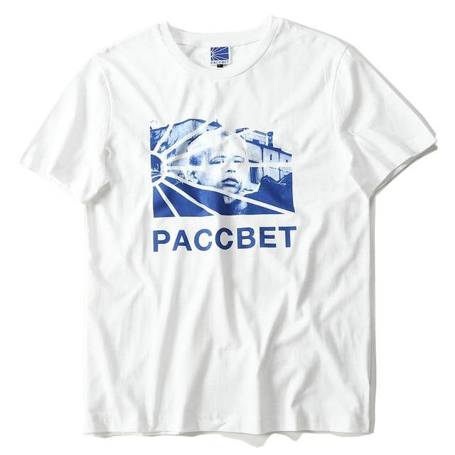 bb2679450 Gosha Rubchinskiy Paccbet Dawn T Shirts Paccbet Dawn Rising Sun Box Logo  Printed Top Tee Hip