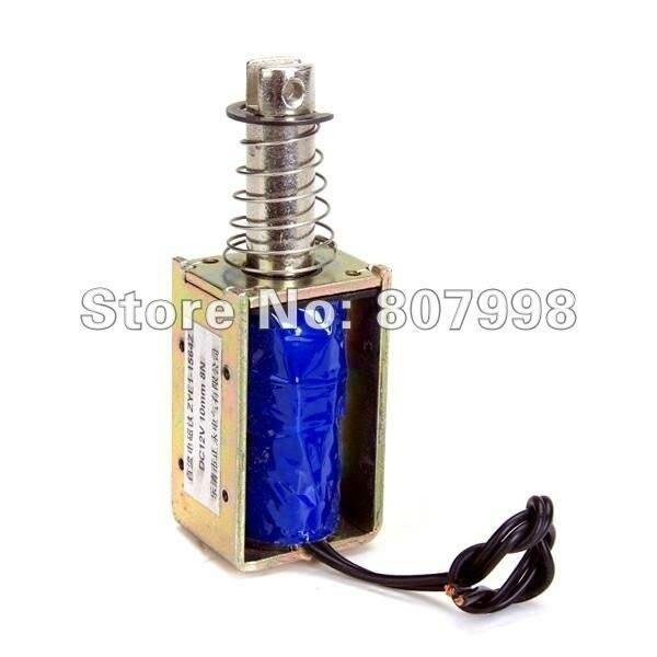 цены  DC 24V Push Type Open Frame Solenoid Electromagnet Actuator Holding 8N 10mm ZYE1-1564Z