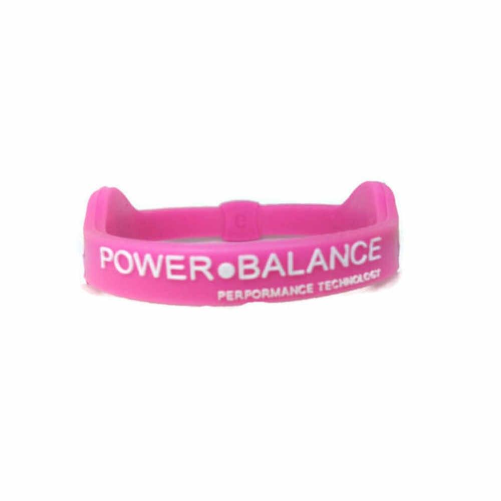 電力エネルギーブレスレットスポーツリストバンドバランスイオン磁気治療シリコーン女性男性のスポーツリストバンドヨガ機器 #15