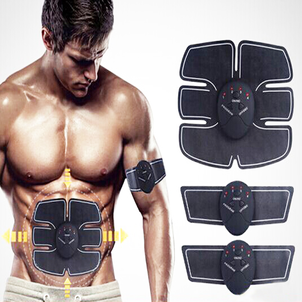 New EMS home training equipment muscle abdominal muscles to strengthen the training arm electric massage weight loss adjustable heavy duty hand gripper grips arm muscle builder wrist strengthener fitness finger forearm workout home equipment