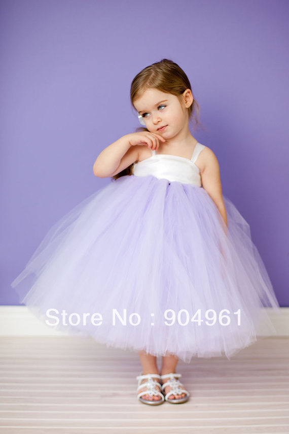 New arrive kids girls party dress pom dress girls wedding dress girls flower tutu dress  ...