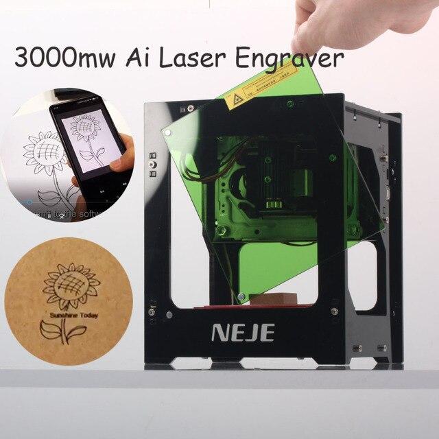 Aliexpress Com Buy Neje 3000mw Ai Laser Engraver 4pin