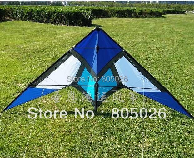 Free Shipping/the second generation of 2.4m roar to the sky stunt kite 7.2mm carbon rod dual Line Control+Tools-loud sound