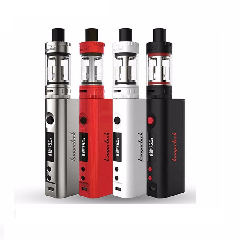 Kanger Topbox Mini Starter Kit Original 4.0ML Toptank 75W Temperature Control Kbox Mini Mod Kanger Topbox mini E Cigarette Kit