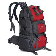 50L Nylon Military Tactical Backpack Hiking Bag Rucksacks Camping Travel Waterproof Trekking Couples Backpacks Sport Bag