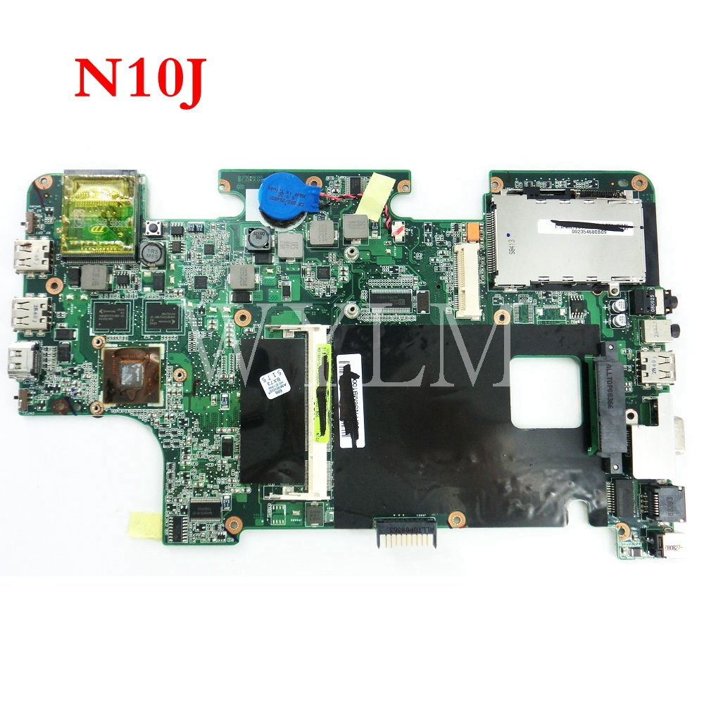 N10J mainboard MAIN BOARD REV 2 0 For ASUS N10J N10 Laptop motherboard PN 08G2001NJ200 tested