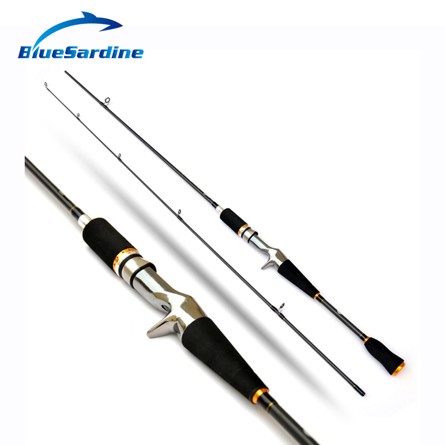 Bluesardine carbon casting rods ultra light fishing lure for Light fishing rods