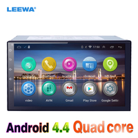LEEWA 7inch Android 4.4.2 Quad Core Car Media Player With GPS Navi Radio For Nissan Sylphy/Patrol/Tiida/Pathfinder/Juke WIFI