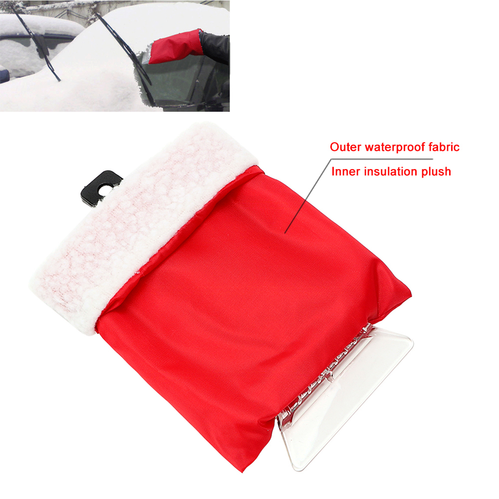 Useful Car Snow Scraper Removal Glove Handheld Car Cleaning Snow Shovel Clean Tool Ice Scraper for Auto Window Car-styling