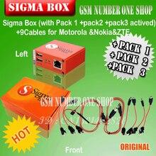 Gsmjustoncct 100% sigma caja Original + Pack $ Number + Pack2 + Pack3 nueva actualización para el huawei envío libre