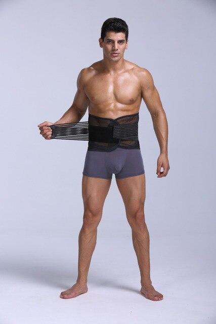 PRAYGER New Fit Body Girdle Men Slimming Waist Shaper Belt Tummy Trimmer Waist Cinchers Breathable  Control Belly Band 1