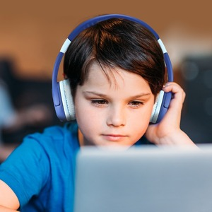 Image 5 - Mpow 새로운 귀여운 유선 아이 헤드폰 귀에 청력 보호 볼륨 제한 헤드폰 아이 소녀 소년