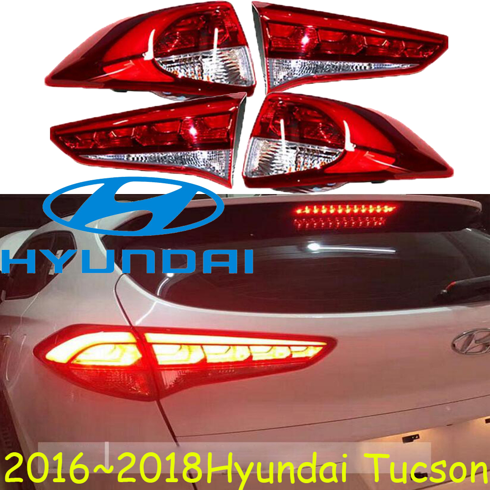 Tucson taillight,2016~2018,Free ship!LED,Tucson rear light,LED,ix35,Tucson taillight;santa fe,IX45,Tucson tail light