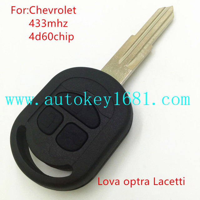 New Replacement Remote Car Key For Chevrolet Lova Optra Lacetti 3