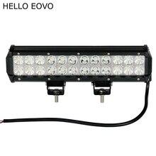 Hello eovo 12 дюймов 72 Вт работы свет бар для индикаторы вождения мотоцикла Offroad Лодка автомобиль тягач 4X4 внедорожник ATV 12 В