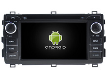 Android 5.1.1 CAR Audio DVD player FOR TOYOTA AURIS 2013 gps Multimedia head device unit receiver BT WIFI