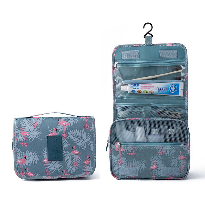Fashion Travel Pouch Waterproof Portable Cosmetic Cases Man Toiletry Bags Women Cosmetic Organizer Pouch Hanging Wash Bags