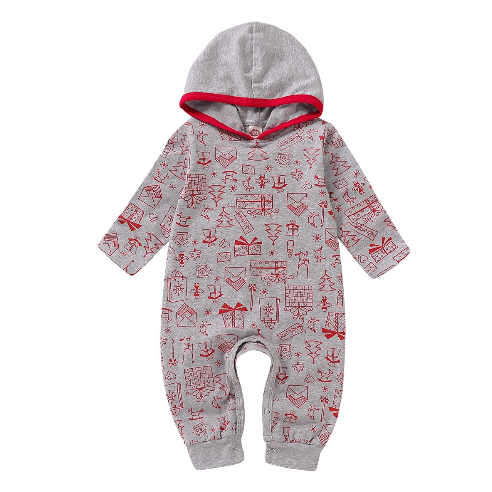 Girls' Baby Clothing Hospitable Puseky Toddler Newborn Baby Boy Girls Warm Outfits Infant Romper Jumpsuit Hooded Xmas Long Sleeve Outfit For Baby Christmas Gift