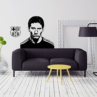 O envio gratuito de Esportes jogador de futebol adesivos de parede infantis meninos do ano Lionel Messi sala wall Decor Home decor
