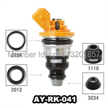 Fuel Injector Repair Kits 40pieces/bag Fuel Injector Filter Viont O Ring Plastic Pintle Cap For Ay-rk-041 Regular Tea Drinking Improves Your Health