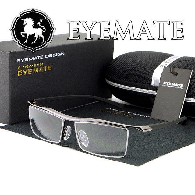 HDCRAFTER brand Plastic computer Reading Glasses Clear Lens Glasses oculos de sol masculino Myopia frame For Men/women E004