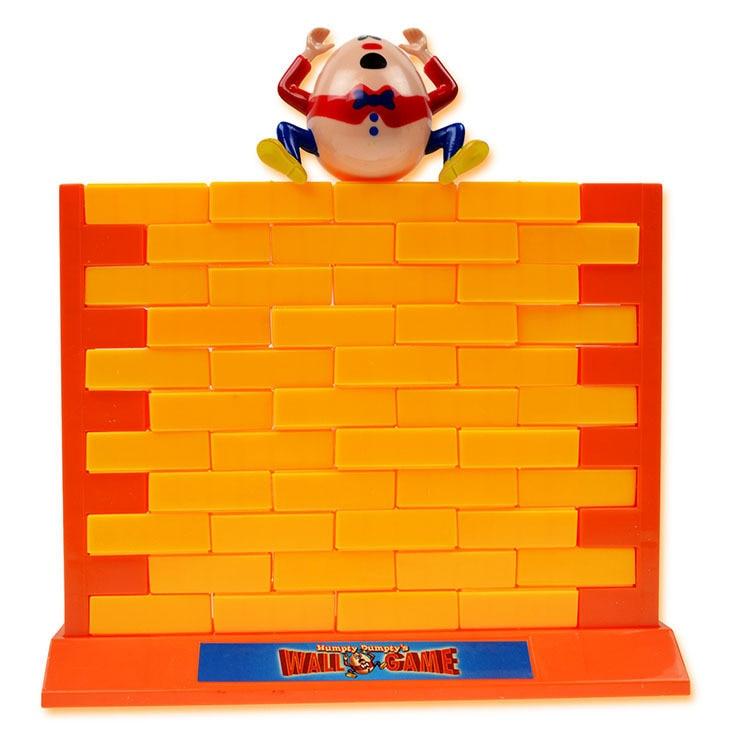 BOHS Push Knock On Bricks Wall Demolish Family Game, Educational Toys for Children Kids
