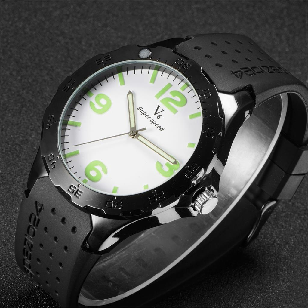 Hot sale! V6 fashion watches Men boy silicone band watch luminous digital scale quartz watch sport Military wristwatches hot horloge new desigh hot sale colorful boys girls students time electronic digital wrist sport watch 2017may10