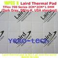 Лучшее Качество Тепловая Кремния Pad, 5.0 Вт/мк, 2 СМ * 2 СМ * 1.5 ММ, лэрд Tflex Серии 700 Gap Filler Материал