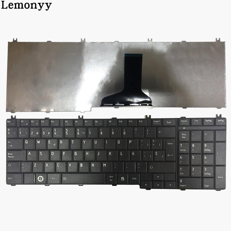 NOUVEAU Espagnol clavier d'ordinateur portable POUR Toshiba Satellite C650 C650D L650 C670 L750 L750D L670 L675 L675D C660 C660D C655 L655 L655D SP