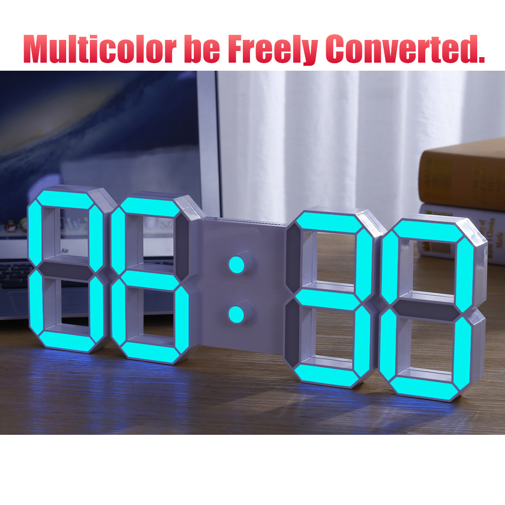 The lowest prices diy large remote 3d led digital wall clock the lowest prices diy large remote 3d led digital wall clock modern design home decor big countdown timer watch alarm clocks in wall clocks from home amipublicfo Image collections