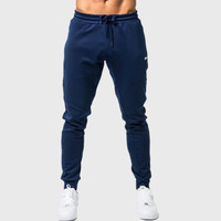 New Mens Cotton Sweatpants Man Autumn Winter Gyms Fitness Bodybuilding Trousers Joggers Workout Sportswear Regular Pencil