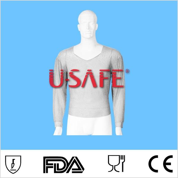 Stainless steel body armor anti resistant vest knife proof vest long sleeve shirt stimage жилет long vest