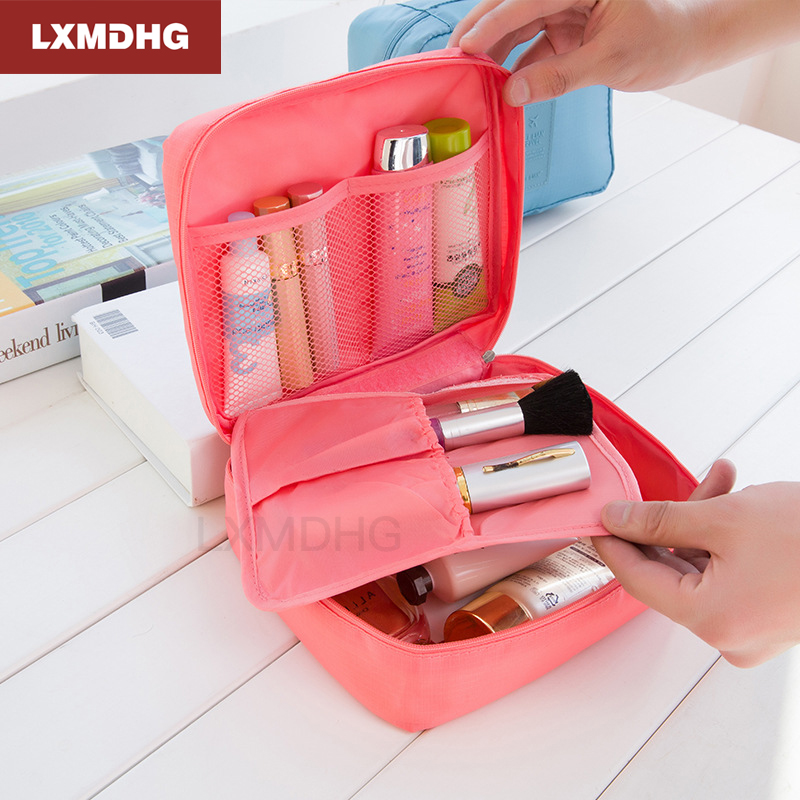 Womens Travel Organization Beauty Cosmetic Make up Storage Cute Lady Wash Bags Handbag Pouch Accessories Supplies item Products